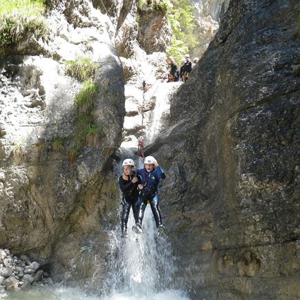 Youth programme/Canyoning with the whole family